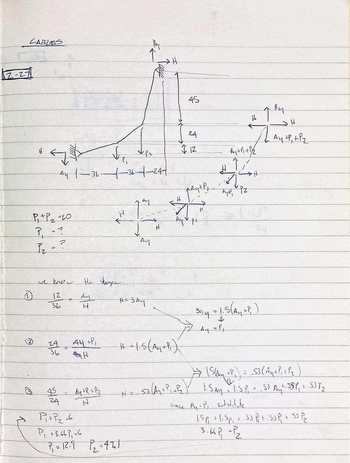 Bob Borson - Structures Notes