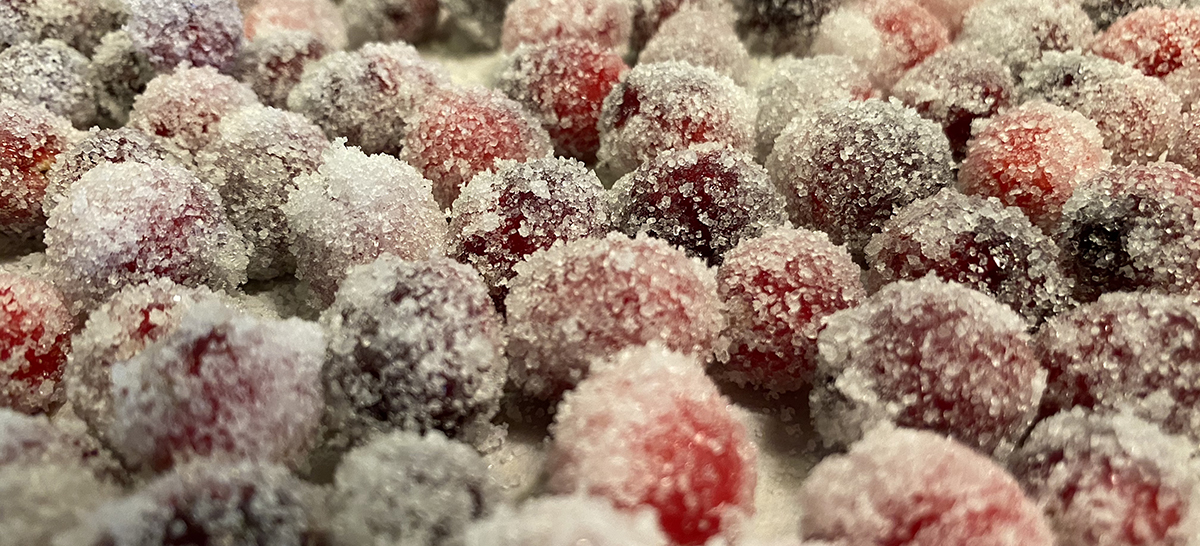Sugared Cranberries by Bob Borson