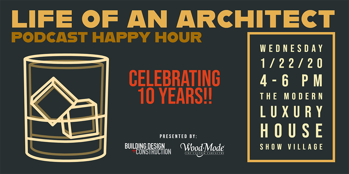 Life of an Architect Happy Hour Invitation
