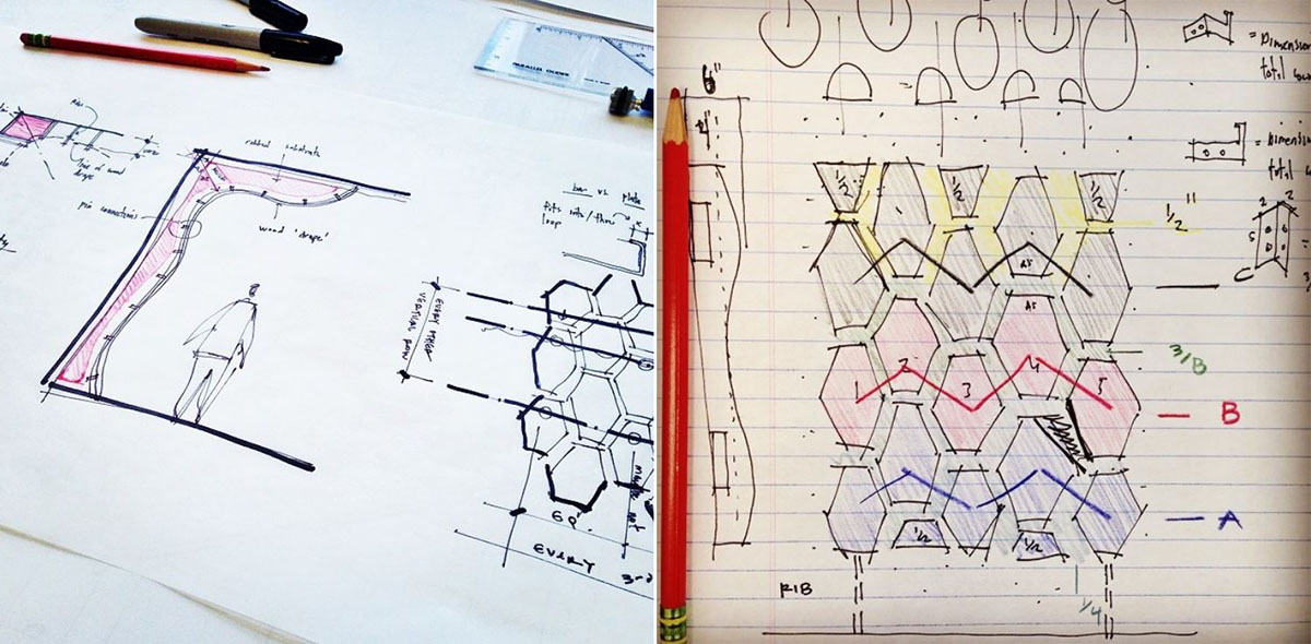 Sketches for Parametric Model to move to Grasshopper