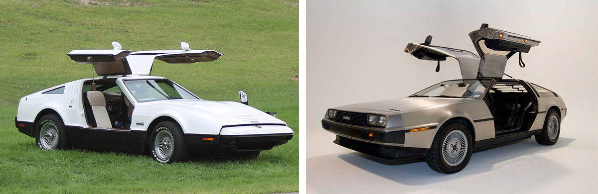 1975 Bricklin & 1981 DeLorean