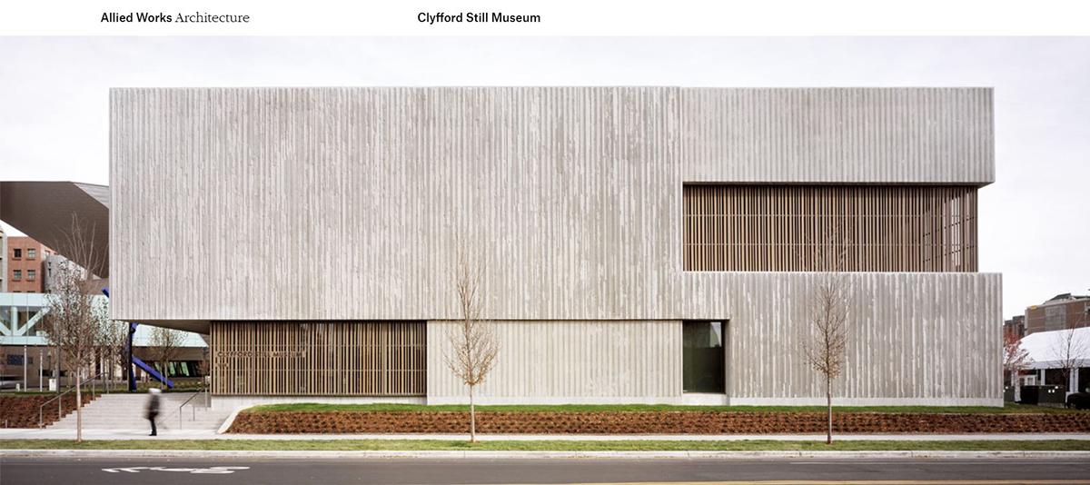 Clyfford Still Museum - Allied Works