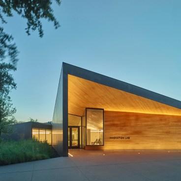 Marlon Blackwell Architects Lamplighter Innovation Lab 4