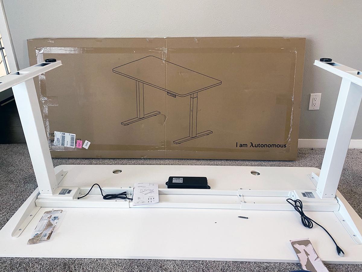 Assembling your Autonomous AI Stand Sit Desk 01 photo by Bob Borson