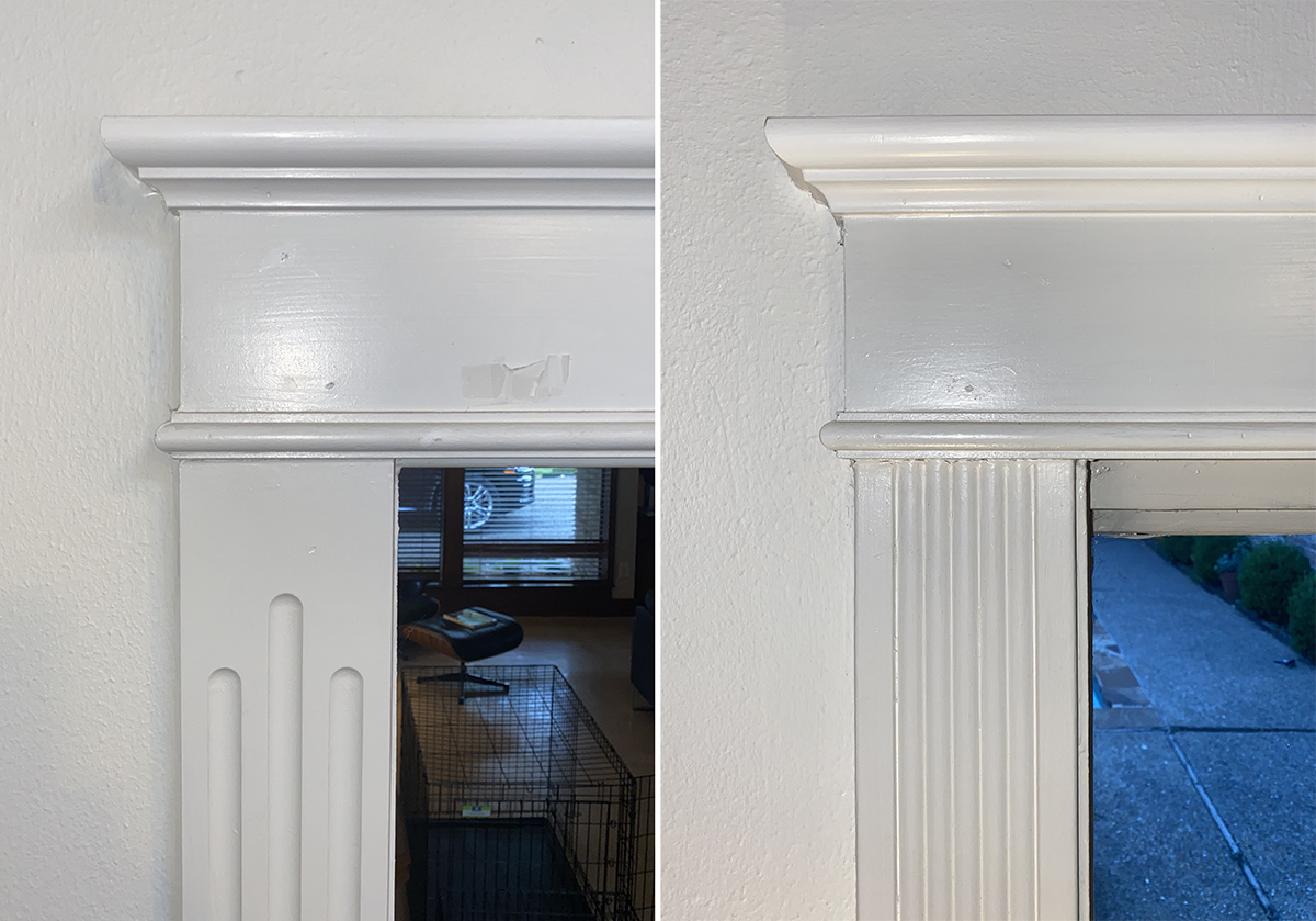 Family Room Door Jamb Comparison