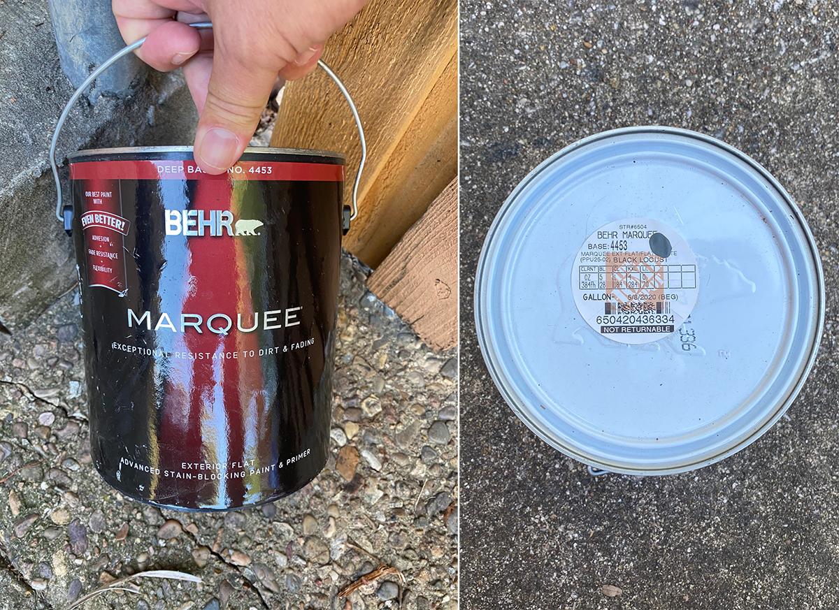 Fence Paint - Bob Borson