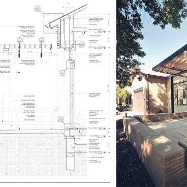 Trellis details - Dallas Architect Bob Borson