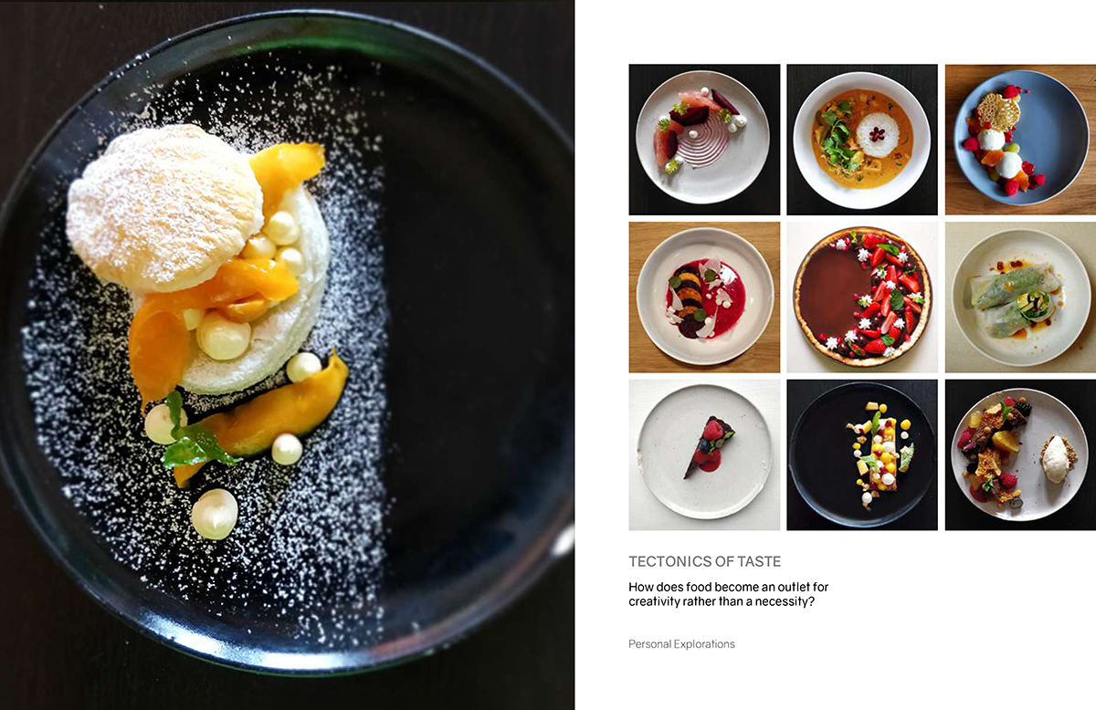 Shah Prarthan Portfolio - Tectonics of Taste