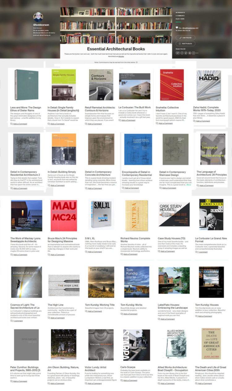 My Favorite Architecture Books – 2020