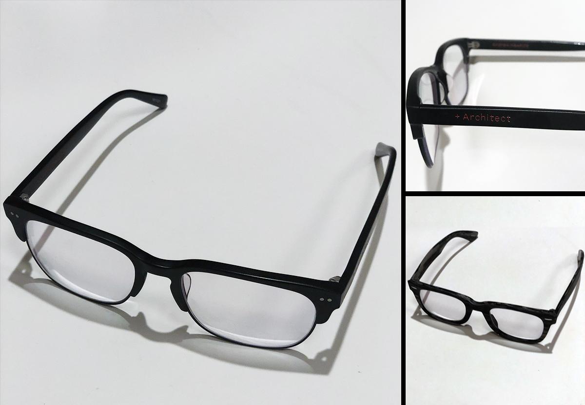 Andrew's Black Frame Specs