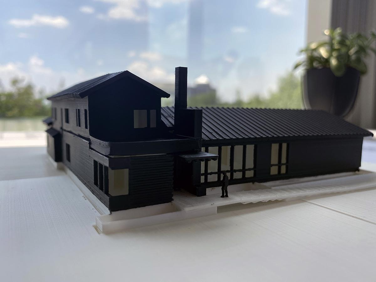 Final 3d model front elevation 01