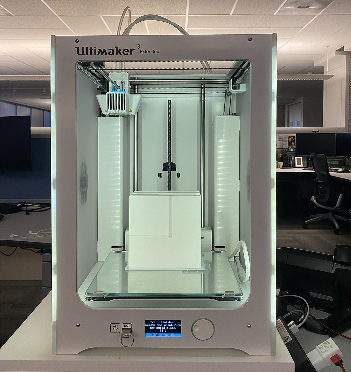 Ultimaker 3 Extended 3D Printer - Printing Architectural 3D Models