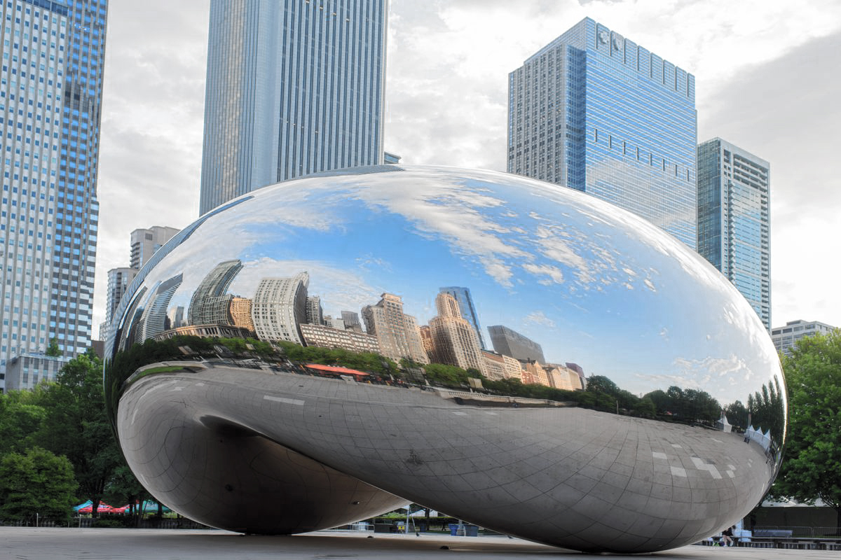 The Bean (Cloud Gate) in Chicago