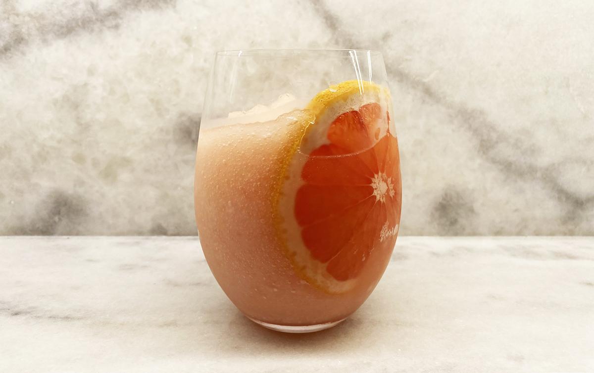 The Borson Family Frozen Grapefruit Paloma