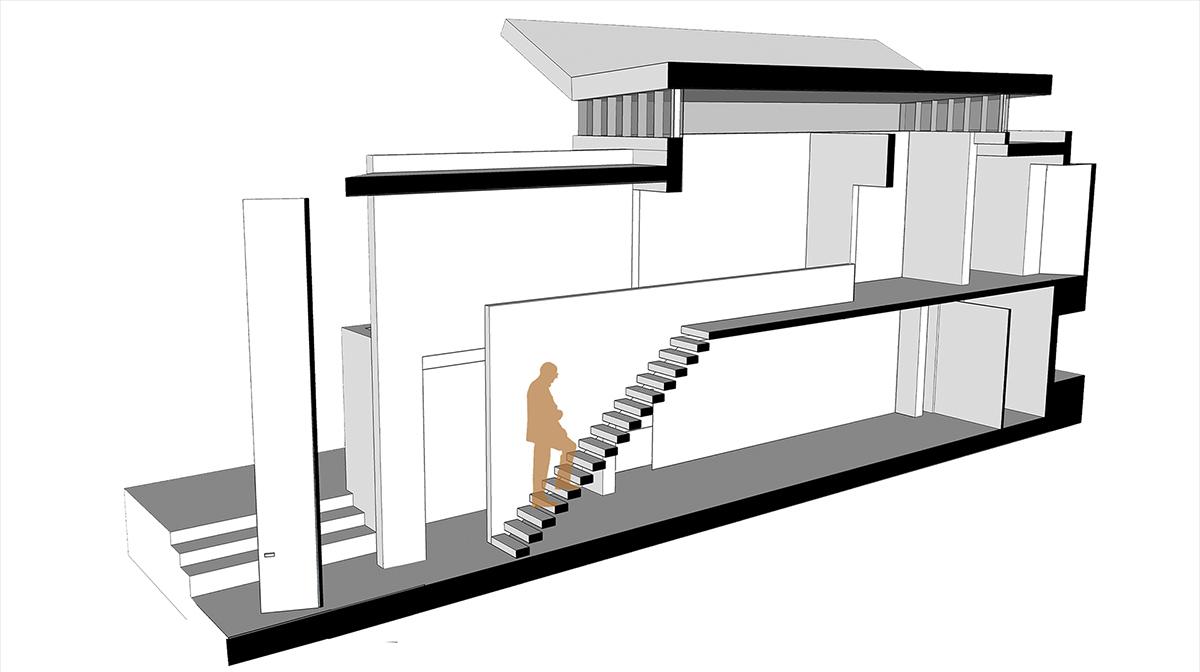 Section Cut Digital Model