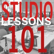 Studio 101: Starting Architecture School