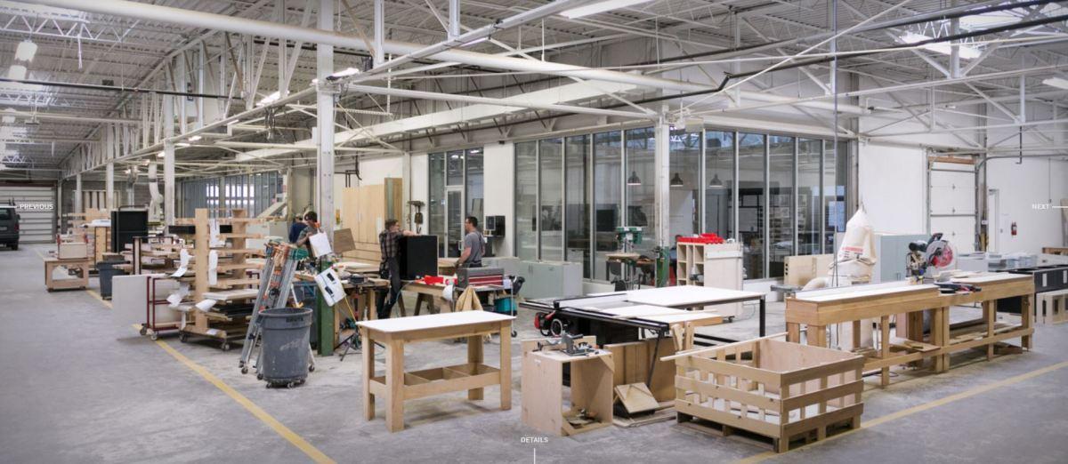 Hufft Fabrication workshop