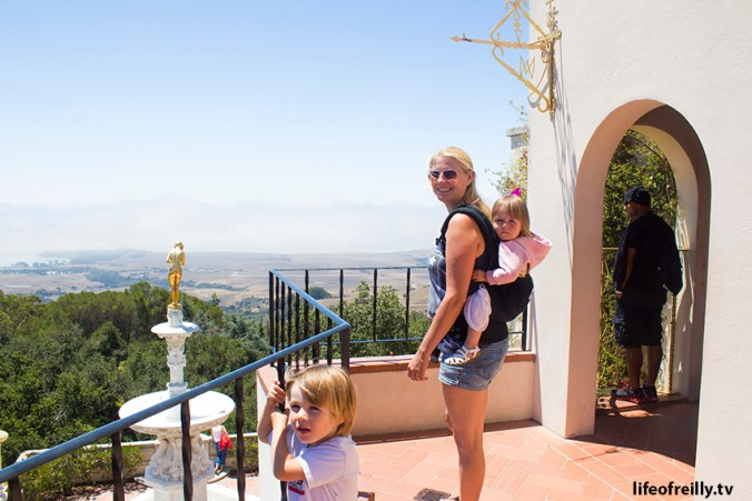 """There are some special views from Hearst Castle and lots to see on the """"ranch"""" as he used to call it!"""