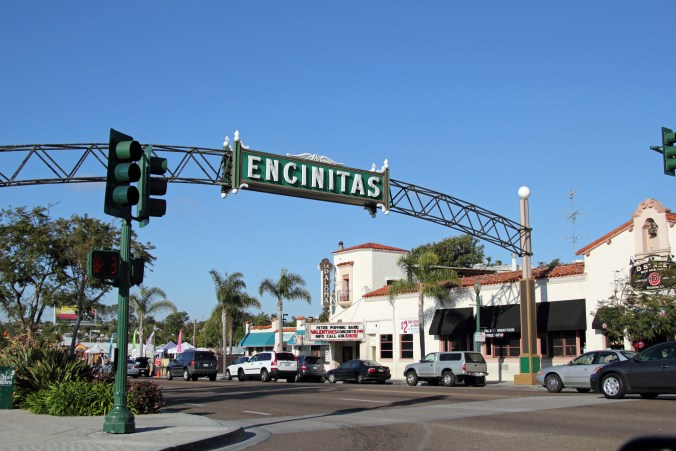 You'll drive under this sign if you take the 101 down to San Diego! Photo by Mike Fairbanks