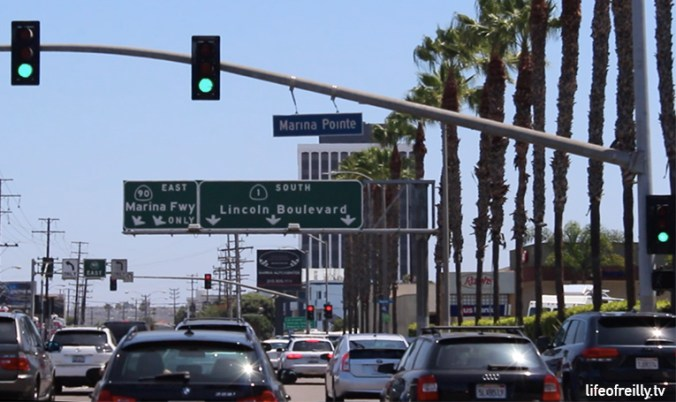 LA driving is always very slow so make sure you try just go with the flow...of the traffic, otherwise you might crash!