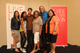 All six of our Live Law Phoenix - Borders storytellers