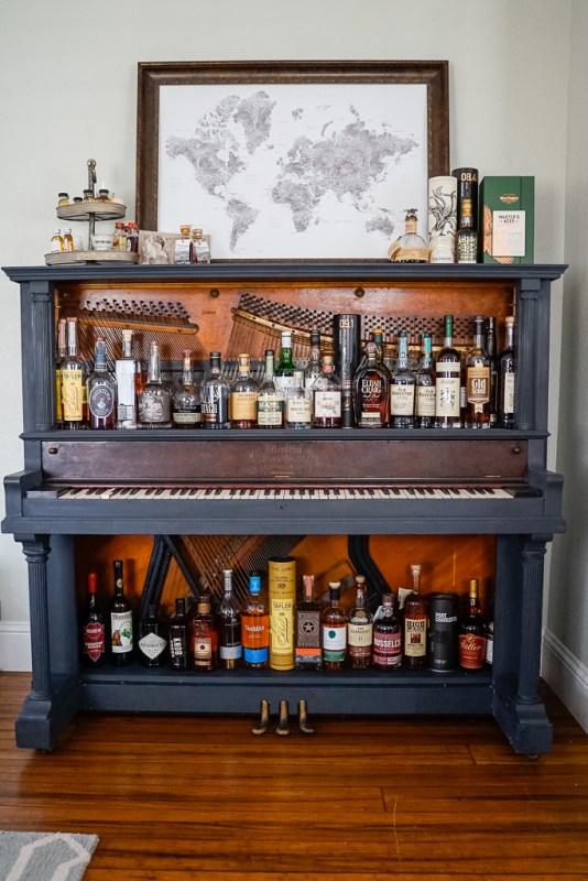 Repurposing A Piano Into A Home Bar Life On Beacon