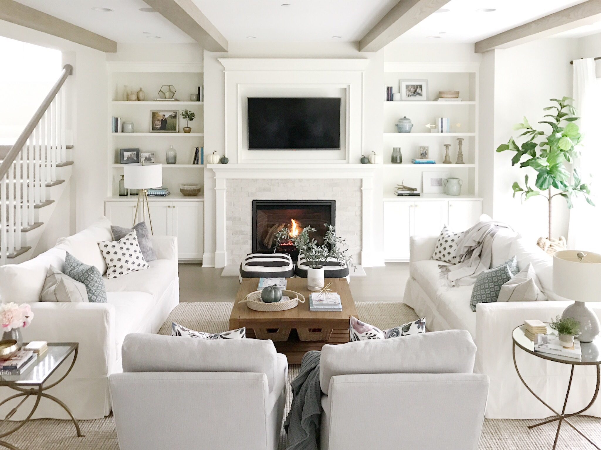 Open Concept Living Room