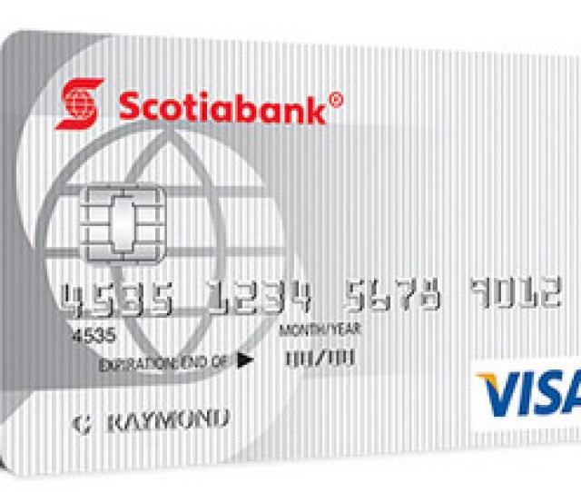 No Fee Scotiabank Value Visa Card Sb