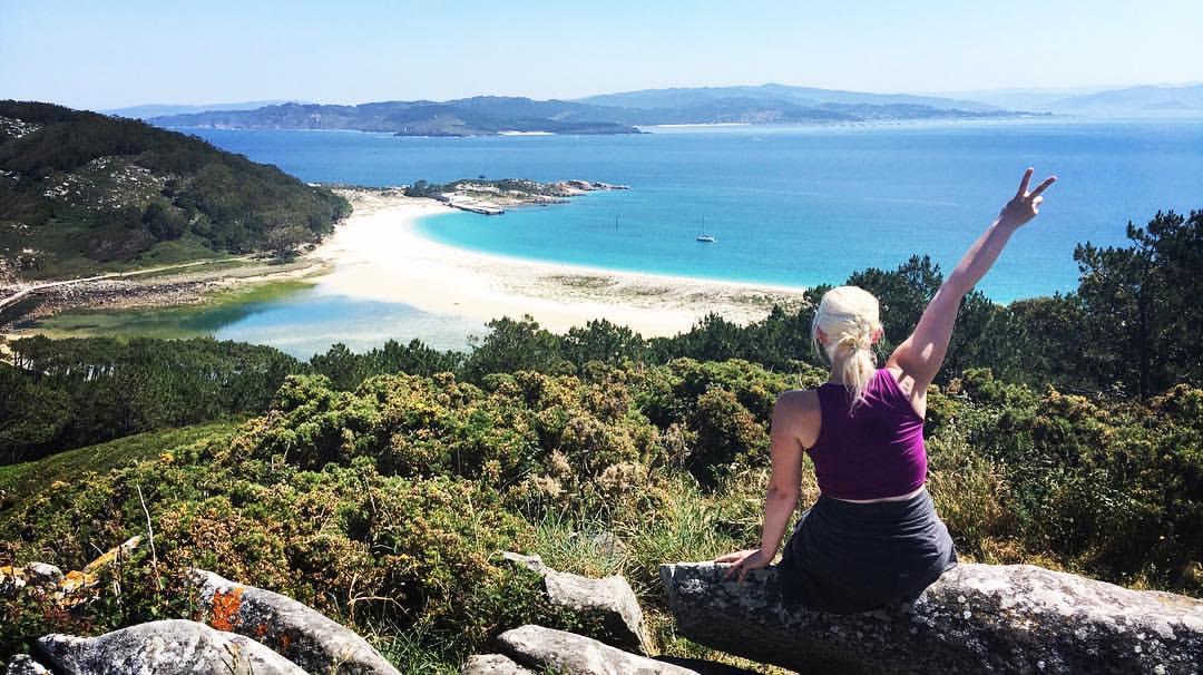hike, galicia, summer, peace, islands
