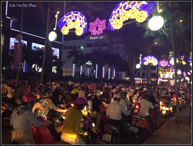 Scooters & Sparkles in Saigon