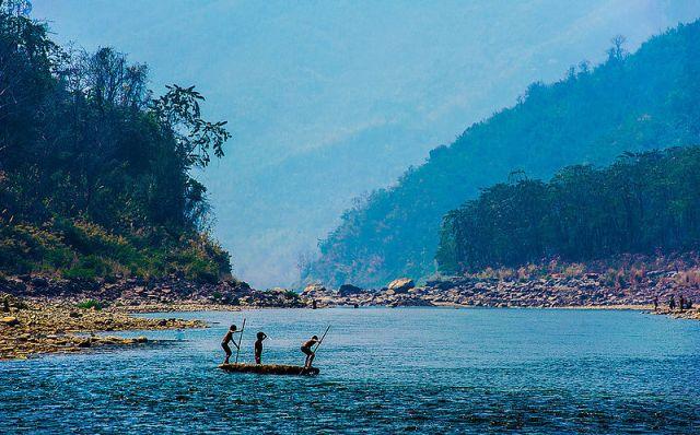 Tuipui River Mizoram India