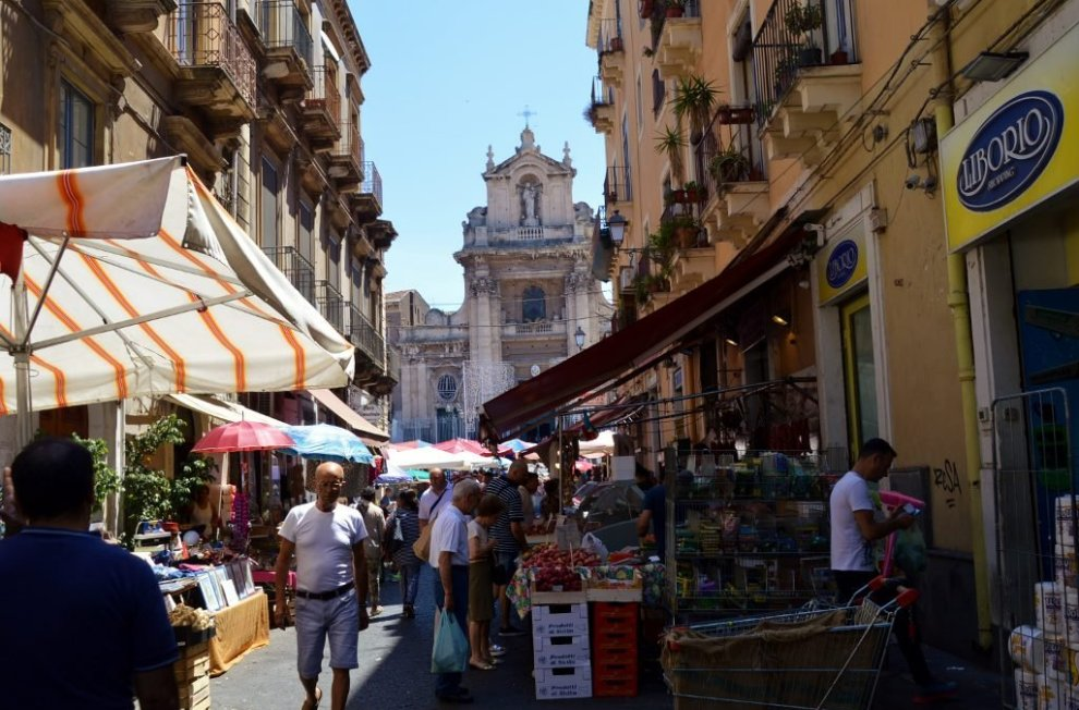 Experiences in Catania, the Catania Fresh Vegetable Market