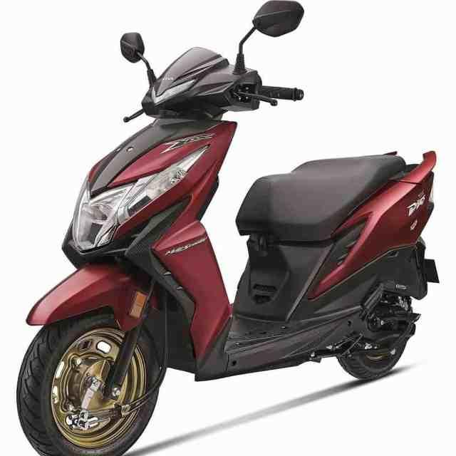 Honda Dio Colors 2019