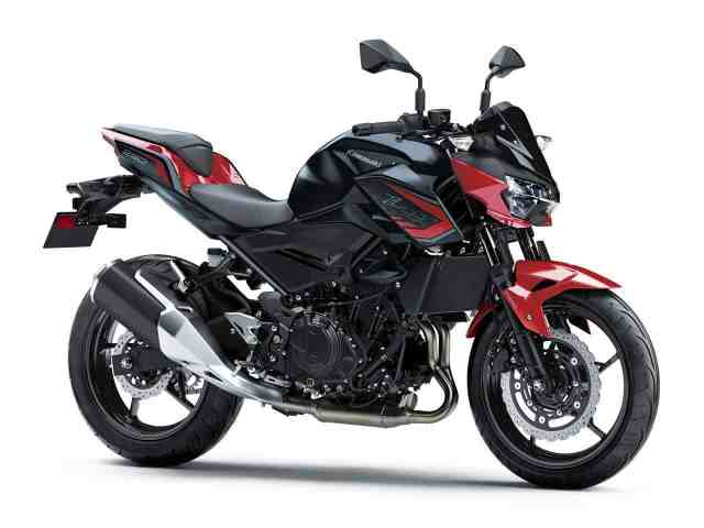 2021 Kawasaki Z250 Was Unveiled With New Color Schemes