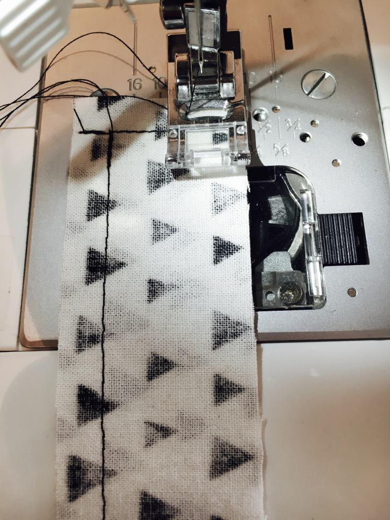 sew 3 edges low