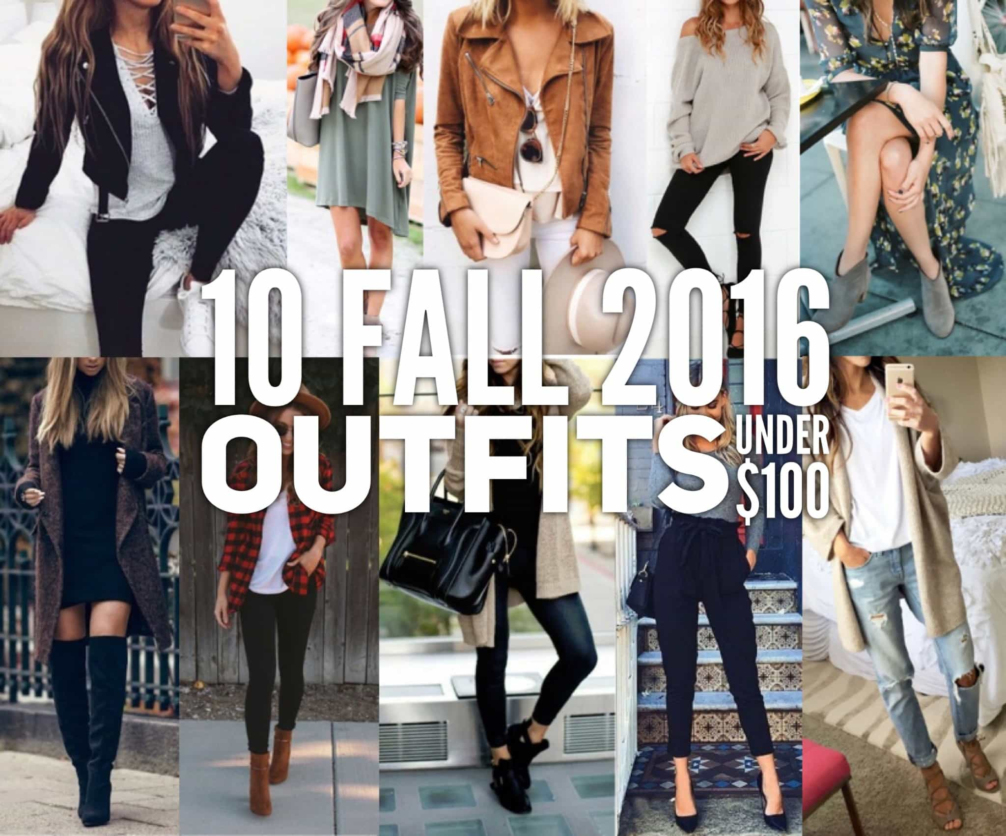 10 Fall 2016 Outfits Under $100