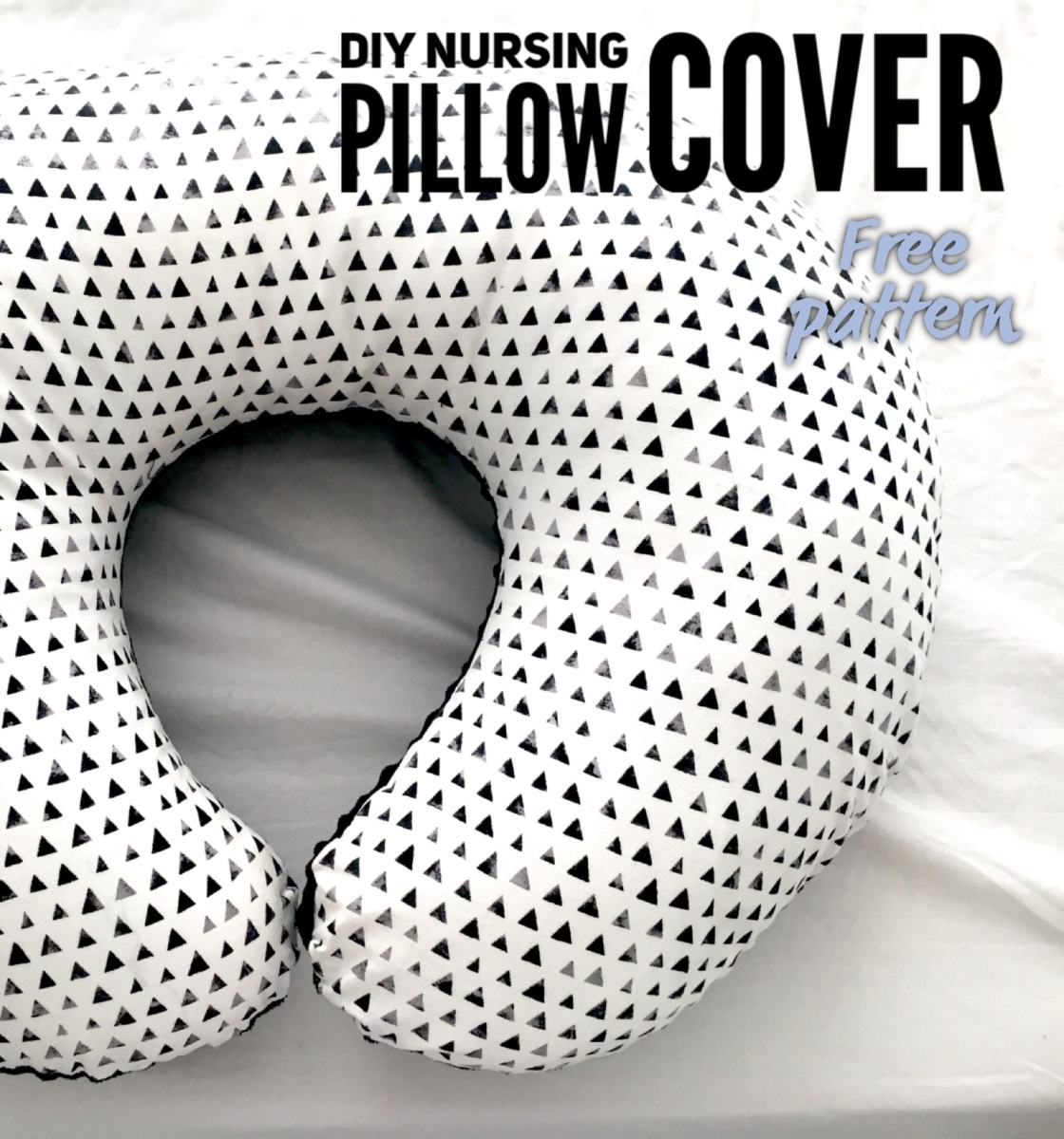 DIY Nursing Pillow Cover