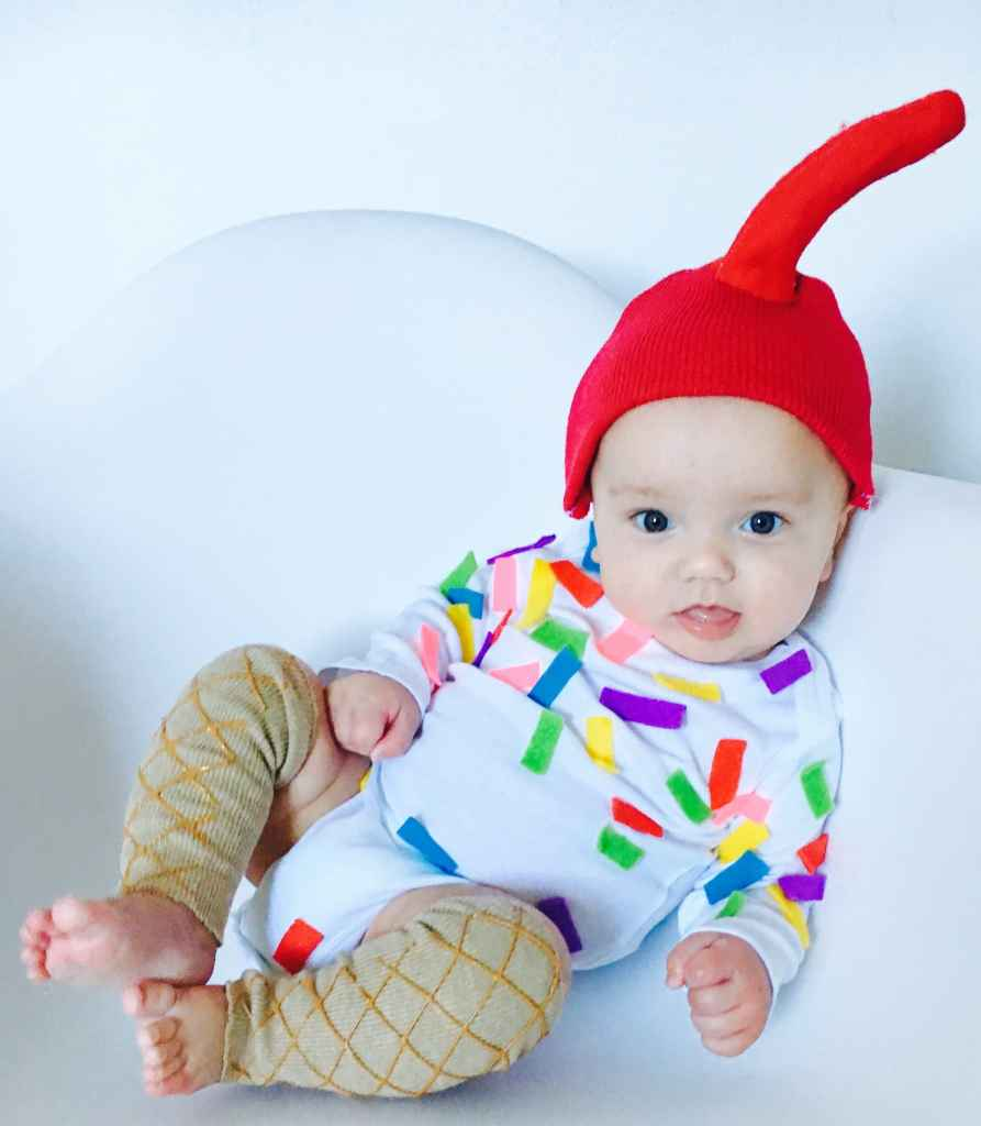 DIY Ice Cream Cone Costume - Life on Waller