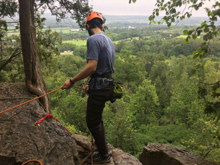 Outdoor Rock Climbing in Ontario 2