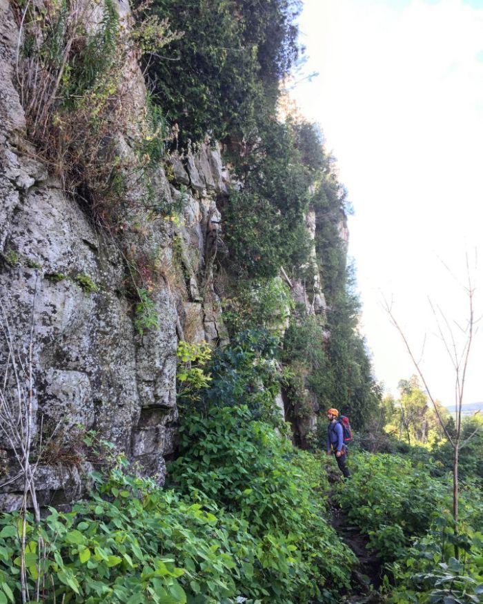 Outdoor Rock Climbing in Ontario 3