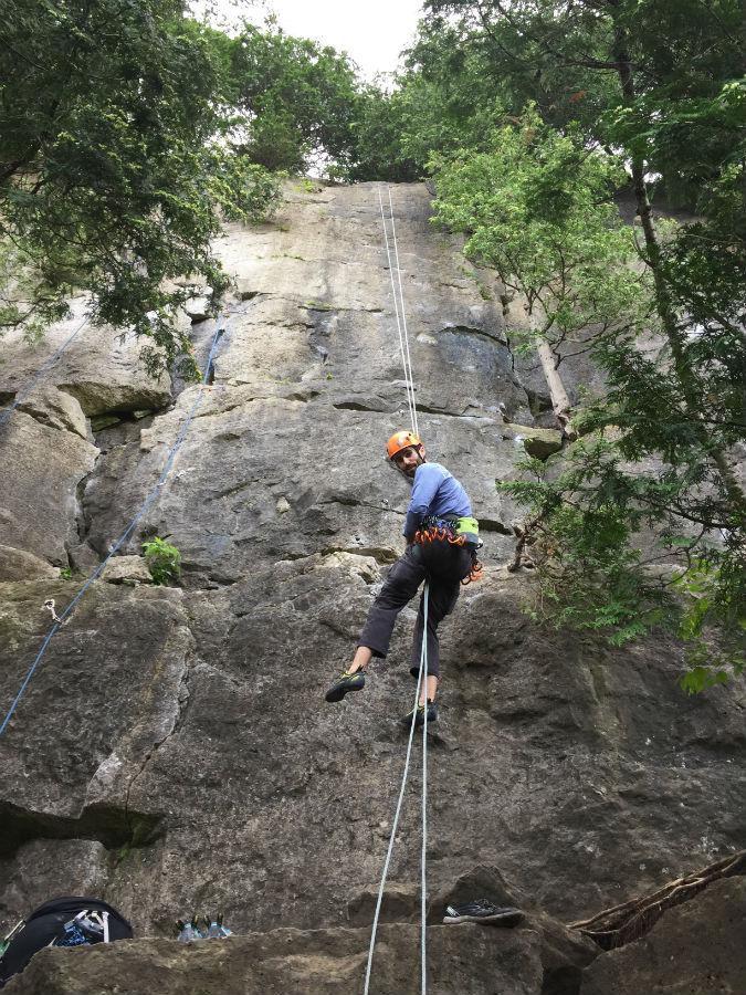 Outdoor Rock Climbing in Ontario 7