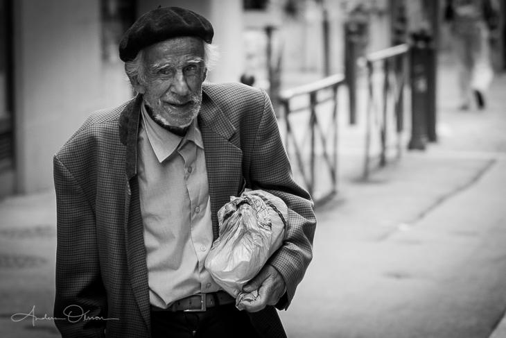 Old man in Marseille