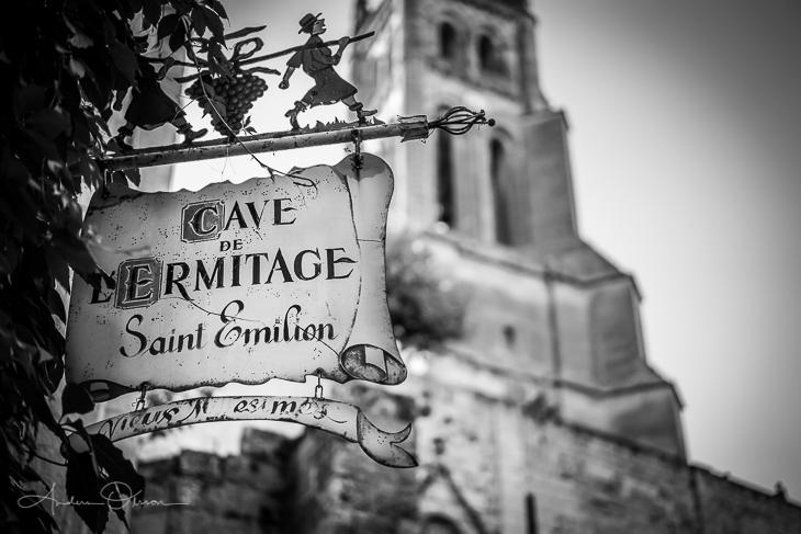 Wine tasting in St Emilion.