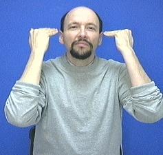 Hair American Sign Language ASL