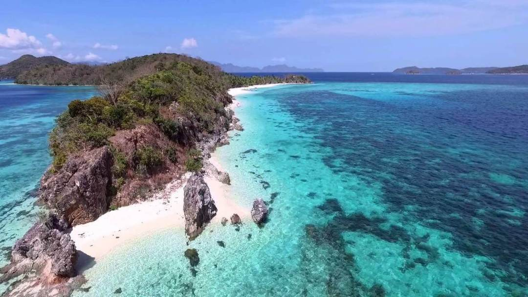 Top 10 Clear Water Beaches - Malcapuya Island Beach, Coron, Philippines