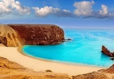 Top 10 Clear Water Beaches - Playa de La Francesa, Canary Islands, Spain