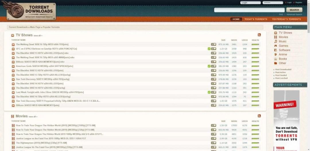 Torrents Download - Best Torrent Sites