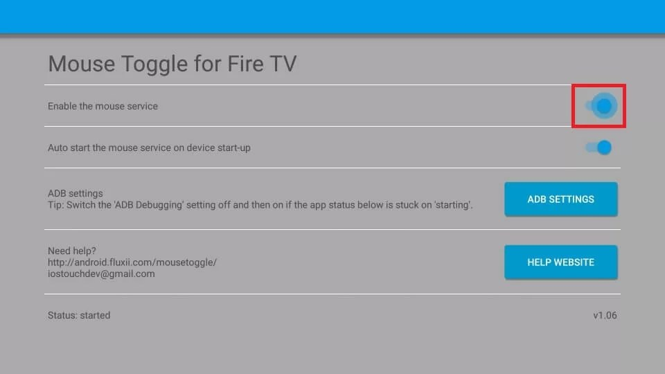 Mouse Toggle for Firestick