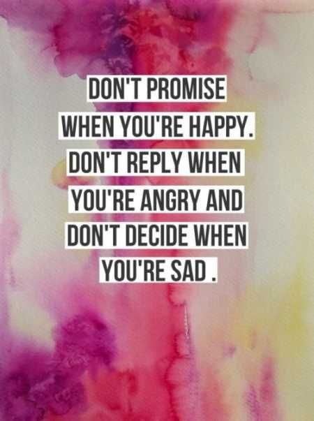 Dont Promise When You Are Happy