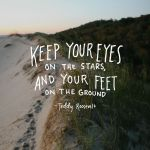 Keep Your Eyes On The Stars …